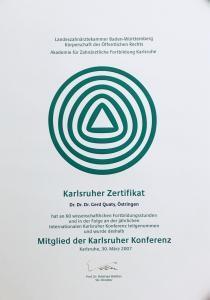 Mitglied der Karlsruher Konferenz (Wissenschaftliche Fortbildungen)