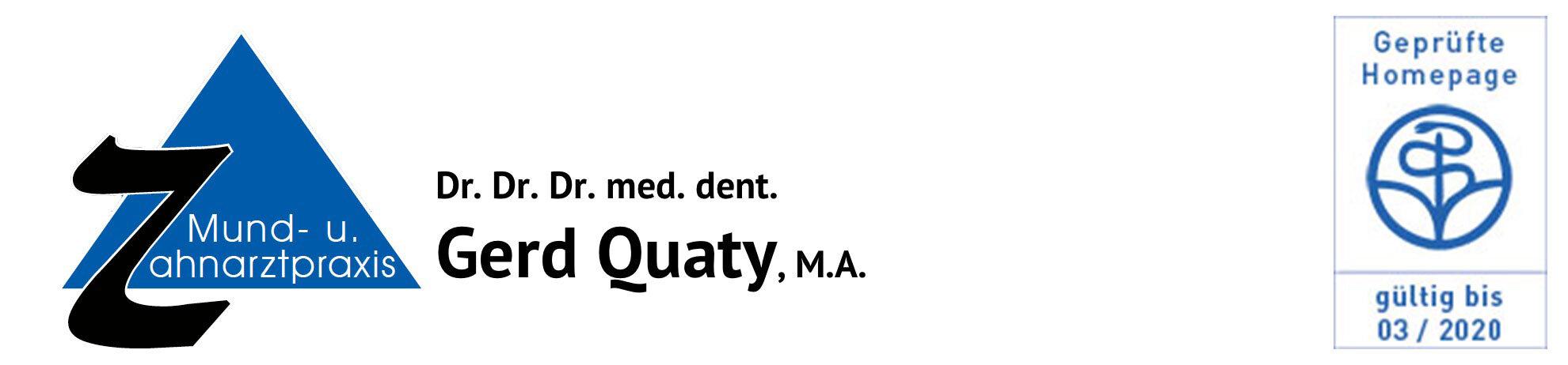Dr. Quaty Logo